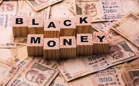 How to change black money to White money